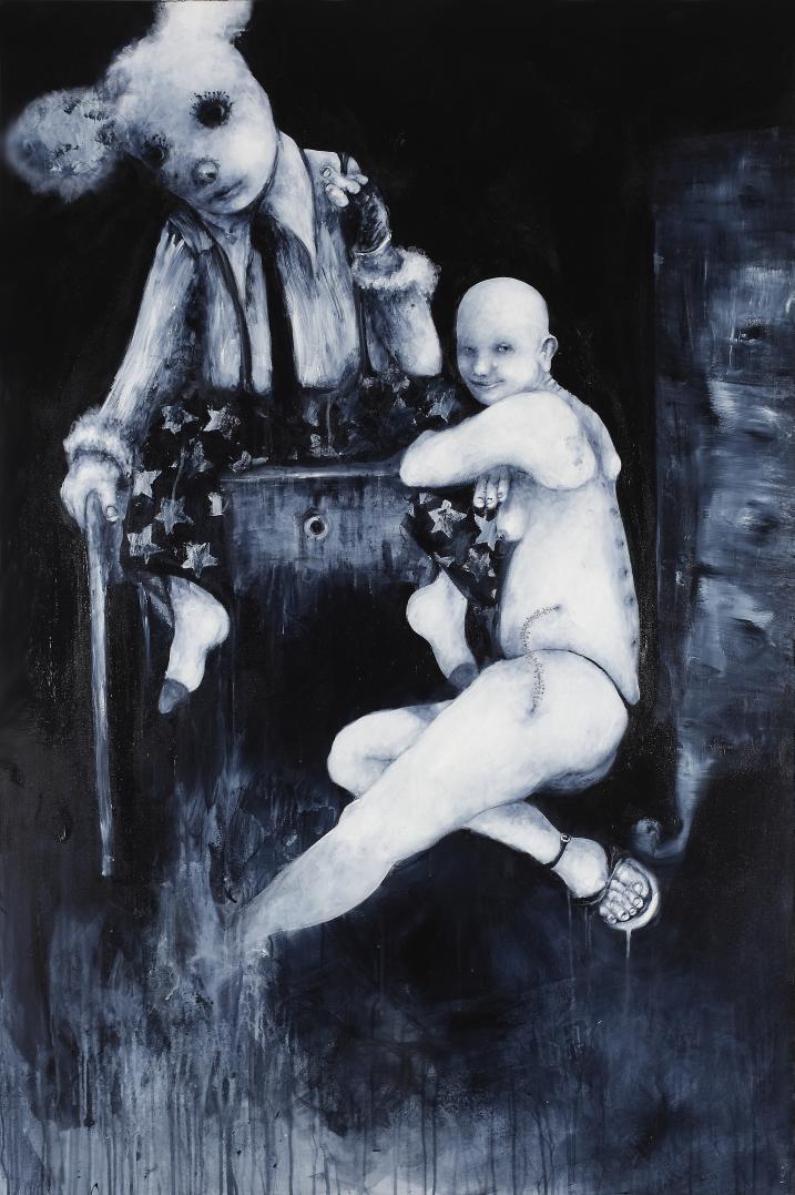 Tracce- Sergio Padovani's painting.