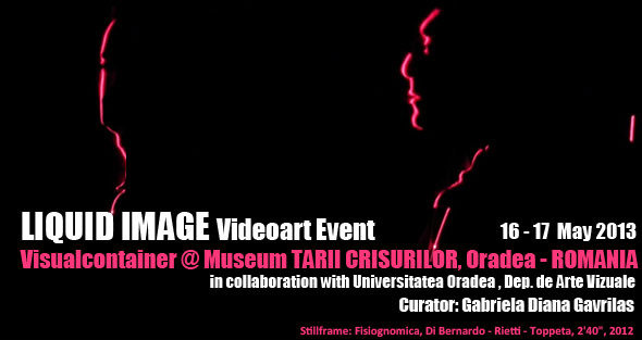 Liquid Image Video Art exhibition, a collaboration between Visualcontainer and University of Oradea