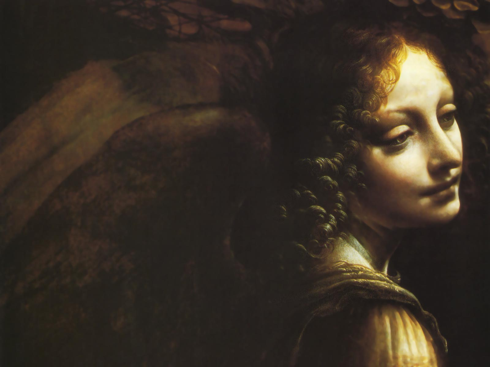 Leonardo Da Vinci - The Virgin of the Rocks
